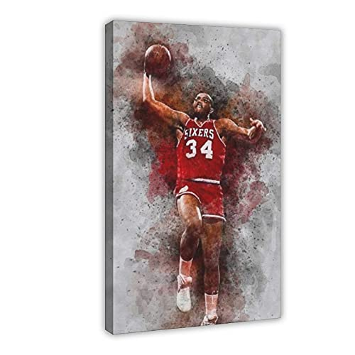 Charles Barkley - Póster de baloncesto (50 x 75 cm)