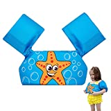 Giacca di Sicurezza per Piscina Salvagente con Gonfiabili Giacca da Galleggiamento Gonfiabili Canottiera per Piscina Supporto al Nuoto per Bambini salvagente per Ragazzi e Ragazze 10-30KG