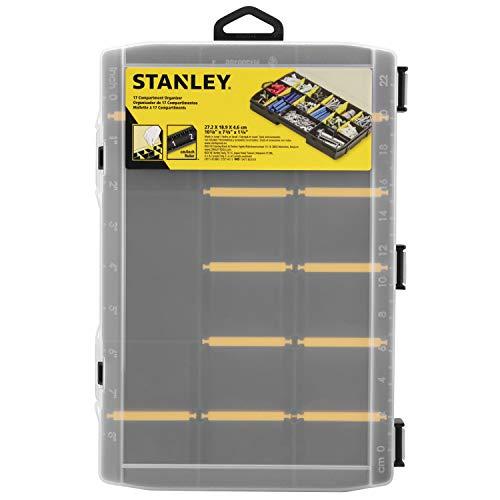Stanley STST81680-1 Organizer Porta minuteria, Trasparente