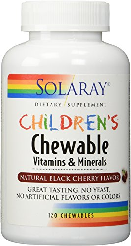CHILDREN'S MULTI CHEW CHERRY 120 TABLETS