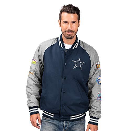 Dallas Cowboys Mens Panola Varsity Jacket (3X)
