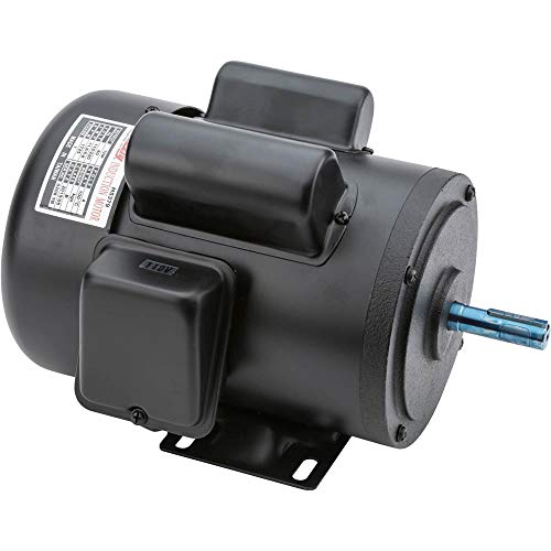 Grizzly Industrial H5379 - Motor 1 HP Single-Phase 1725 RPM TEFC 110V/220V