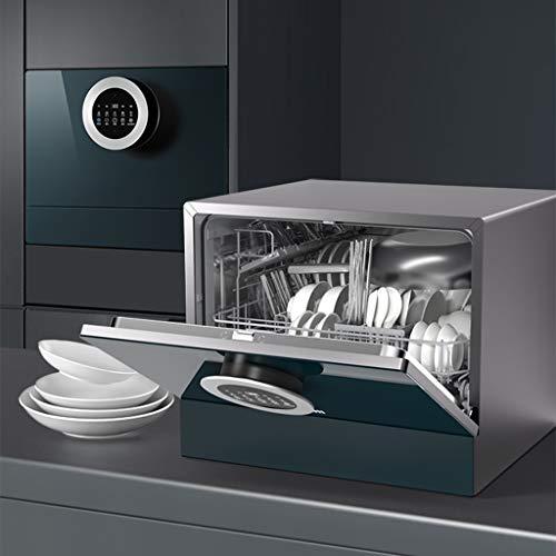 Geschirrspüler For Küche, Energieeffizient, Obst, Babyflaschen, Selbstreinigend, Geschirr, Messer Und Gabel Trocknen, 8L, Besteckkorb Abtropfbrett, Compact Spülmaschine