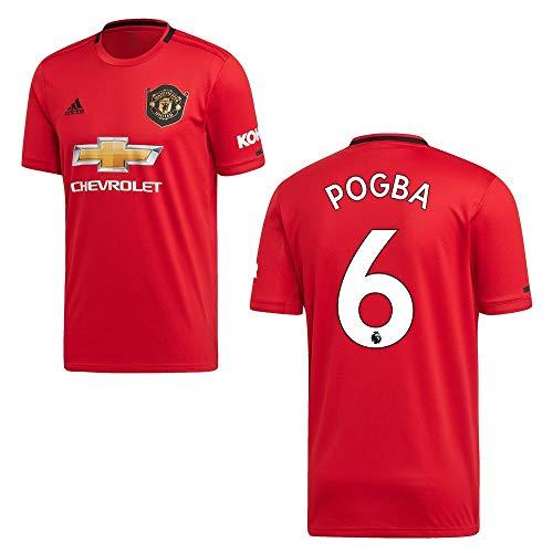 adidas Manchester United Trikot Home Herren 2020 - Pogba 6, Größe:M