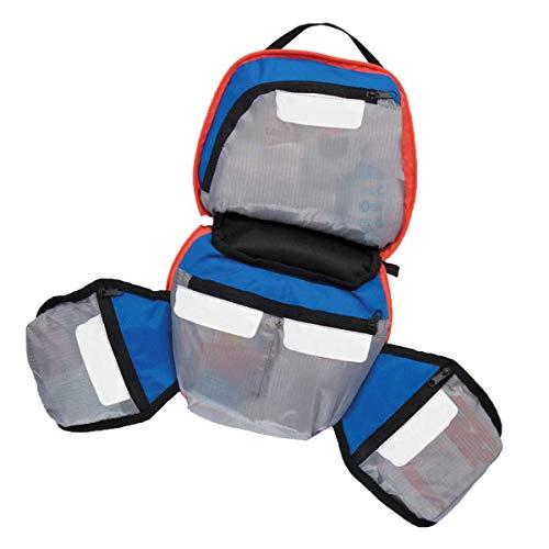 Adventure Medical Kit personalizzato vuoto Kit Bag Pocket Label System per un accesso rapido Tasche con cerniera per mantenere gli oggetti puliti e facile accesso