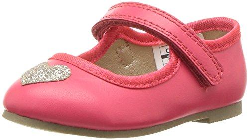 Carter's Alvina Girl's Ballet Flat, Pink, 10 M US Toddler