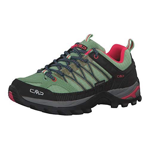 CMP Damen Trekking Schuhe Rigel Low 3Q54456 Leaf-Petrol 42
