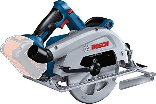 Bosch Professional BITURBO Akku Handkreissäge GKS 18V-68 C (ohne Akkus und Ladegerät, inkl. 1x Sägeblatt, Parallelanschlag, im Karton)