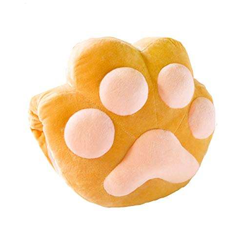 L-kulam (エルクラ) 肉球型クッション 肉球好き 選べるカラークッション かわいい 気持ち良い 洗えるから衛...