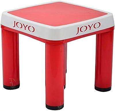 Joyo Strong Stool| Bathroom Stool| (Large, Red)