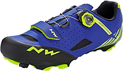 Northwave Sapatos Btt NW Origin Plus BLU/YLW - 43