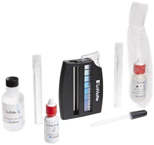 LaMotte 4456-01 Total Sulfide Octet Comparator Individual Test Kit, 0.2-20ppm Range