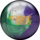 Best Zone Bowling Balls - Brunswick Vapor Zone Hybrid 15lb, Emerald/Silver/Purple Review
