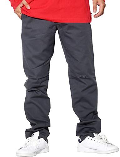(バンズ) VANS チノパン 大きいサイズ メンズ ストレッチパンツ USAモデル B系 スケーター VN0A3143 チャコール 36 [並行輸入品]