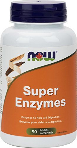 NOW Super Enzymes 90 Tablets, 90 g