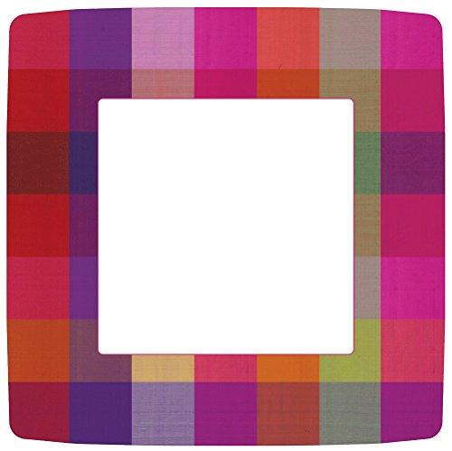 Entertaining with Caspari-Confezione da 20 Pezzi, 12,7 cm, di Carta e Seta Tailandese, Motivo: Cocktail-Tovaglioli di Carta, Multicolore, Dinner Plate