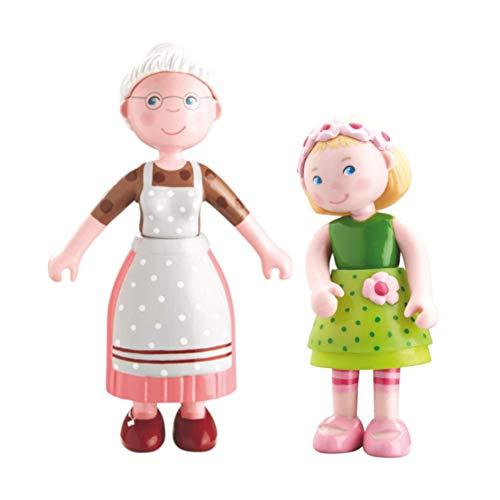 HABA - Little Friends Biegepuppe (2 Puppen, Mali + Oma Elli)