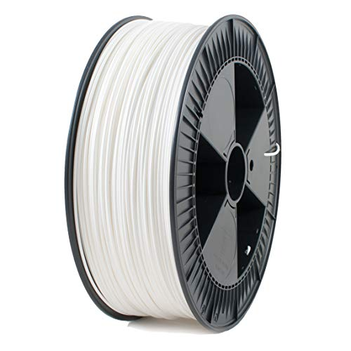 ICE FILAMENTS, PLA Filament, 3D Drucker Filament, 2.85mm, 2.30kg, Wondrous White (Weiß) ICEFIL3PLA135