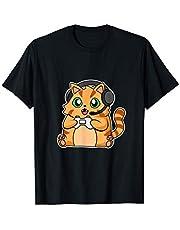 Gaming Gato I Videojuego I Videojuego I Ordenador I PC Camiseta