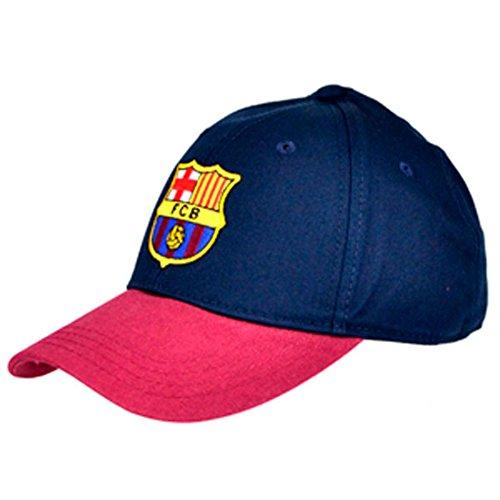 FCB FC Barcelona - Gorra de béisbol de FC Barcelona para Hombre (Talla Única) (Azul/grana)