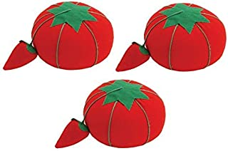 Dritz Tomato Pin Cushion W/Strawberry Emery, 2.5
