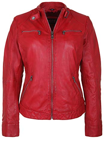 H.I.S Damen Lederjacke DINGS
