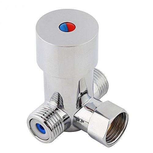 Hot and Cold Water Mixing Valve Temperature Control Mixer for Automatic Sensor Faucet