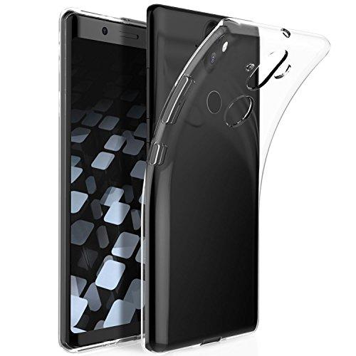 KuGi Cover Nokia 8 Sirocco, Custodia Trasparente Silicone Cover Morbida TPU Caso, Anti Scivolo& Anti-Urto Case per Nokia 8 Sirocco