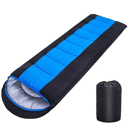 Saco de DormirTamaño de Embalaje pequeño 2.2 Sacos de Dormir Ligeros Saco de Transporte Ligero Saco de Dormir cálido y fácil de Manta Muchas Funciones Acampar Trekking Viajar 0 ℃ +