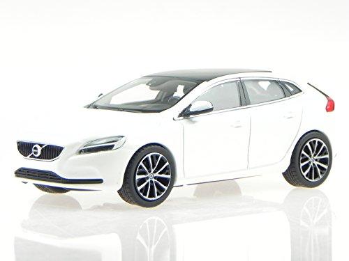 Volvo V40 2016 weiss Cristal White Met. Modellauto 870005 Norev 1:43