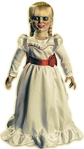Close Up Annabelle Puppe detailgetreu mit Stoffkleidung (H: 45cm)