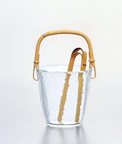 東洋佐々木ガラス氷入れ約φ12×12×14cm高瀬川アイスペール日本製45565