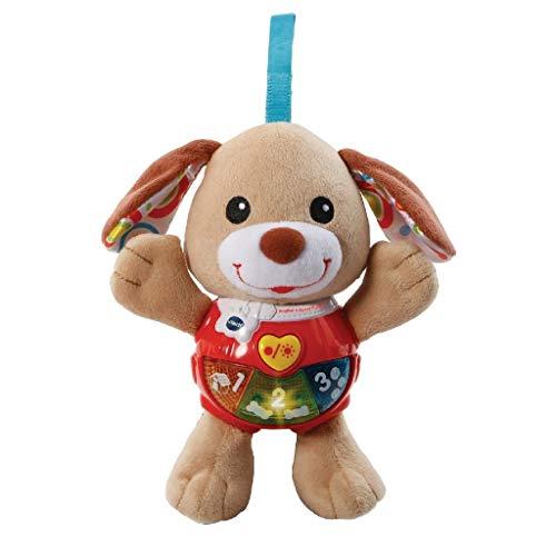 VTech Baby - Knuffel & Speel Puppy - Bruin - Pluche - Voor Jongens en Meisjes - Van 3 tot 24 maanden - Nederlands Gesproken