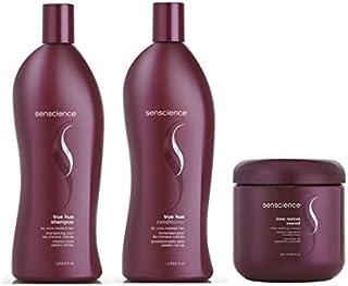 Kit Shampoo Condicionador e Máscara Senscience True Hue (2x1000 e 500) ml