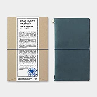 Blue Travelers Notebook Regular Size 2018 Edition, New in Package