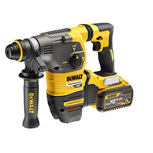 Dewalt DCH333 54v XR Flexvolt 3 Mode SDS+ Hammer Drill with 1 x 9Ah Battery