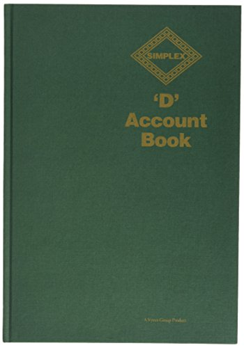 SIMPLEX D BOOK KEEPING// ACCOUNTS BOOK **GREAT PRICE**