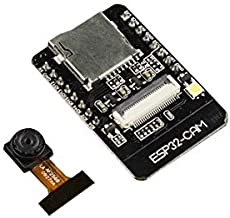 pzsmocn ESP32-CAM Camera Module OV2640 2MP for Arduino Raspberry Pi, Bluetooth Module WiFi ESP32 CAM Development Board,with TF Card Slot. LoT Applications,Prototypes Constructions and DIY Projects.