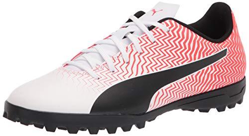 PUMA Herren 10606206 Fußballschuh, Weiß (Puma White-puma Black-red Blast), 45 EU