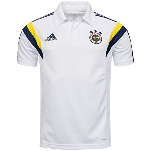 2014-2015 New Season Fenerbahce Camp Polo Coach Jersey, Xsmall