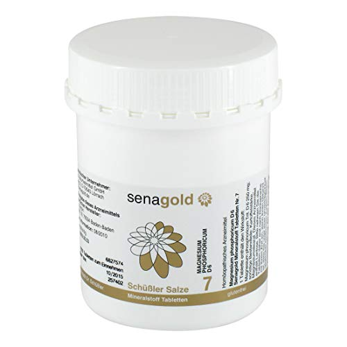 Schuessler Salz Nr. 7 - Magnesium phosphoricum D6-1000 Tabletten, glutenfrei