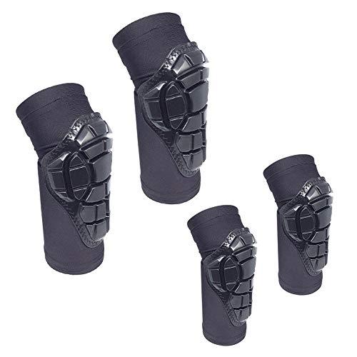 TYYM knee pads Schutzausrüstung Für Das Reiten Im Freien Sicherheit Knieschützer Skating Auto Gleichgewicht Auto Skateboard Roller Skating-Gang Kinder Black