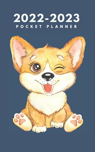 2022-2023 Pocket Planner: Cute Dog …