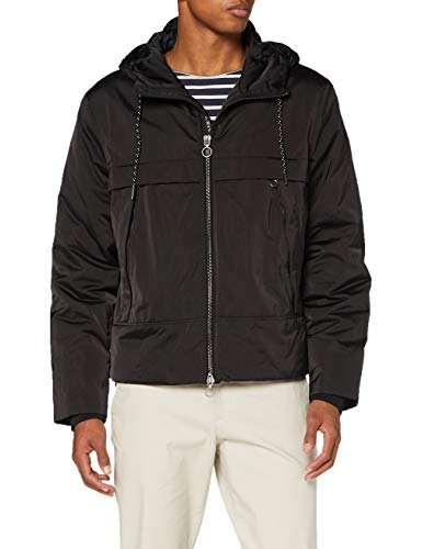 Armani Exchange Mens Blouson Jacket, Black, XS