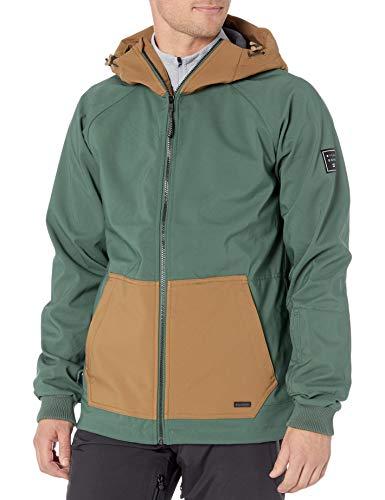 BILLABONG Herren Downhill Softshell Snowboard Jacket Isolierte Jacke, Wald, X-Groß