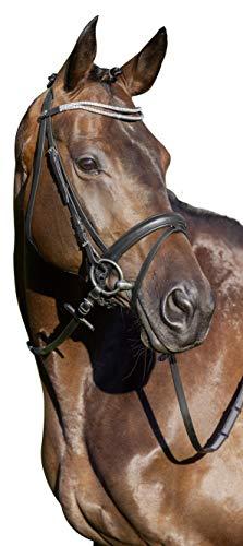 United Sportproducts Germany USG 14000057-400 Juno Pony Licol suédois Noir