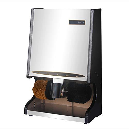 HAI SHOP Máquina Automática De Calzado con Cepillo De Doble Combinación para Quitar Y Pulir El Polvo, Detección Remota por Infrarrojos, Lubricación Automática, Ahorro De Combustible