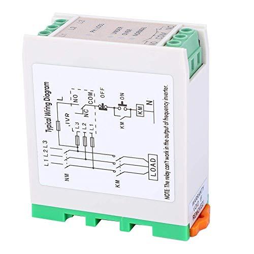 CENPEN Baja tensión del Circuito Protector, 3 JVR-382 Pérdida de Fase mínima tensión de sobretensión Protector de Voltaje Supervisión de la protección de relé y Secuencia de Luces LED