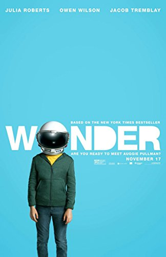 WONDER MOVIE POSTER 2 Sided ORIGINAL Advance 27x40 JACOB TREMBLAY JULIA ROBERTS