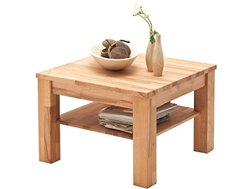 möbelando Couchtisch Wohnzimmertisch Sofatisch Holztisch Tisch aus Massivholz Paul
